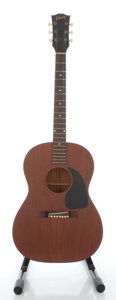 Musical Instruments:Acoustic Guitars, 1962 Gibson LG-0 Mahogany Acoustic Guitar, Serial #46985....