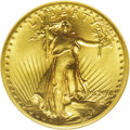 High Relief Double Eagles: , 1907 $20 High Relief, Flat Rim MS66 NGC. This remarkably sharp example has many characteristics that are seen on examples c...