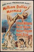 "Movie Posters:Musical, Million Dollar Mermaid (MGM, 1952). One Sheet (27"" X 41""). Musical...."