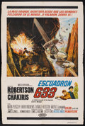 "Movie Posters:War, 633 Squadron (United Artists, 1964). Argentinean Poster (29"" X43""). War. ..."