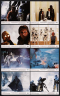 """Movie Posters:Science Fiction, The Empire Strikes Back (20th Century Fox, 1980). Mini Lobby CardSet of 8 (8"""" X 10""""). Science Fiction. ... (Total: 8 Items)"""