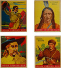 "Non-Sport Cards:Sets, 1933-40 R73 Goudey ""Indian Gum"" Complete Set (216). ..."