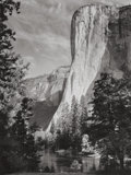 Photographs:20th Century, ANSEL ADAMS (American, 1902-1984). El Capitan (TwoPhotographs), 1952. Gelatin silver, circa 1970 printed by AlanRoss. ... (Total: 2 Items)