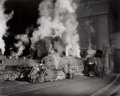 Photographs:20th Century, O. WINSTON LINK (American, 1914-2001). Coaling Locomotives,Shaffers Crossing, Virginia, 1955. Gelatin silver, 1995. 15-...