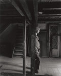 Photographs:20th Century, ARNOLD NEWMAN (American, 1918-2006). Otto Frank, The Anne Frank House, Amsterdam, 1960. Gelatin silver, printed later. 1...