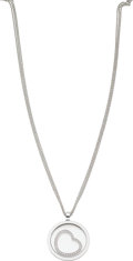 Estate Jewelry:Necklaces, Diamond, White Gold Necklace, Chopard. ...