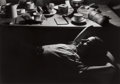 Photographs:20th Century, WILLY RONIS (French, 1910-2009). La Nuit au Chalet, 1935.Gelatin silver, printed later. 9-3/4 x 13-7/8 inches (24.8 x 3...