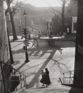Photographs:20th Century, WILLY RONIS (French, 1910-2009). Avenue Simon Bolivar,Paris, 1950. Gelatin silver, printed later. 11-1/4 x 10-1/4inche...