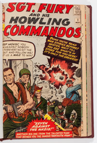 Sgt. Fury and His Howling Commandos #1-120 Bound Volumes (Marvel, 1963-74).... (Total: 8 Items)