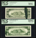 Error Notes:Ink Smears, Fr. 2017-G $10 1963A Federal Reserve Note. PCGS Choice About New58PPQ; Fr. 2027-B $10 1985 Federal Reserve Note. PCGS Choice ...(Total: 2 notes)