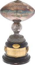 Football Collectibles:Others, 1936-46 Lambert Trophy - Awarded Annually to Best College Football Team in the East....