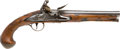 Handguns:Muzzle loading, C. 1770 Brass Mounted British Flintlock Holster Pistol....