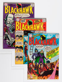 Blackhawk Group - Savannah pedigree (DC, 1966-68) Condition: Average VF/NM.... (Total: 21 Comic Books)
