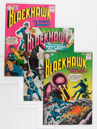 Blackhawk Group - Savannah pedigree (DC, 1960-62) Condition: Average VF.... (Total: 7 Comic Books)