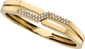 Estate Jewelry:Bracelets, Diamond, Gold Bracelets, Van Cleef & Arpels, France. ...