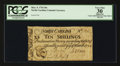 Colonial Notes:North Carolina, North Carolina March 9, 1754 10s PCGS Apparent Very Fine 30.. ...