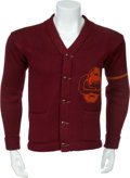 Football Collectibles:Uniforms, Circa 1935 Gene Roberts University of Southern California Trojans Letterman's Sweater....