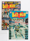 Silver Age (1956-1969):Superhero, Batman #166 and 185 - Savannah pedigree Group (DC, 1964-66).... (Total: 2 Comic Books)
