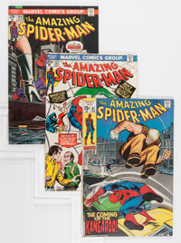 The Amazing Spider-Man Group - Savannah pedigree (Marvel, 1970-77) Condition: Average VF/NM.... (Total: 12 Comic Books)