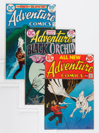 Adventure Comics Group - Savannah pedigree (DC, 1973-77) Condition: Average VF/NM.... (Total: 24 Comic Books)