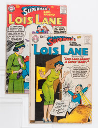 Superman's Girlfriend Lois Lane #3 and 7 Group (DC, 1958-59).... (Total: 2 Comic Books)