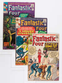 Fantastic Four Group (Marvel, 1963-66).... (Total: 7 Comic Books)