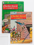 Golden Age (1938-1955):Superhero, Detective Comics #198 and 209 Group (DC, 1953-54) Condition: Average VG.... (Total: 2 Comic Books)