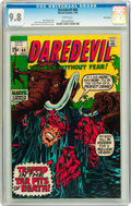 Bronze Age (1970-1979):Superhero, Daredevil #66 Twin Cities pedigree (Marvel, 1970) CGC NM/MT 9.8White pages....