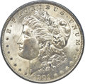 Morgan Dollars, 1901 $1 MS61 NGC. CAC....