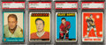 Hockey Cards:Lots, 1961 - 1980 O-Pee-Chee and Topps Hockey PSA-Graded Hall Of FamersCollection (9). ...