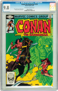Modern Age (1980-Present):Miscellaneous, Conan the Barbarian #133 (Marvel, 1982) CGC NM/MT 9.8 Off-white to white pages....