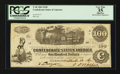 Confederate Notes:1862 Issues, Columbus, Miss Stamped T40 $100 1862.. ...