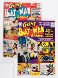Silver Age (1956-1969):Superhero, Batman Annual #1 and 7 Group (DC, 1961-64).... (Total: 3 Comic Books)