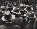 Photographs:20th Century, WILLIAM HEICK (American, b. 1916). Hats, 1948. Gelatinsilver, printed later. 14-3/4 x 19 inches (37.5 x 48.3 cm).Recto...
