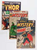 Golden Age (1938-1955):Horror, Journey Into Mystery #89, 96, and 109 Group (Marvel, 1963-64)....(Total: 3 Comic Books)
