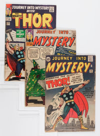 Journey Into Mystery #89, 96, and 109 Group (Marvel, 1963-64).... (Total: 3 Comic Books)