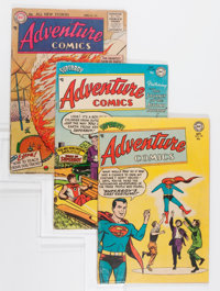 Adventure Comics Group (DC, 1953-56).... (Total: 4 Comic Books)