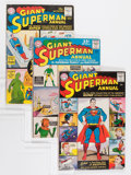 Silver Age (1956-1969):Superhero, Superman Annual #1, 4, and 5 Group (DC, 1960-62) Condition: Average VG+.... (Total: 3 Comic Books)
