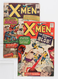 X-Men #7 and 9 Group (Marvel, 1964-65).... (Total: 2 Comic Books)