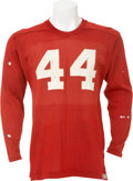 Football Collectibles:Uniforms, 1949-50 Kyle Rote Game Worn SMU Mustangs Jersey. ...