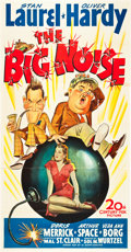 """Movie Posters:Comedy, The Big Noise (20th Century Fox, 1944). Three Sheet (41"""" X 81"""")....."""