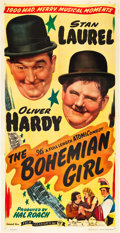"Movie Posters:Comedy, The Bohemian Girl (Film Classics, R-1946). Three Sheet (41"" X81"").. ..."