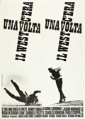 """Movie Posters:Western, Once Upon a Time in the West (Euro International, 1968). Italian 2- Foglio (39"""" X 55"""").. ..."""