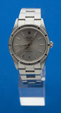 Timepieces:Wristwatch, Rolex Gent's Steel Oyster Perpetual Air King, circa 2001. ...