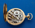 Timepieces:Pocket (post 1900), Howard 23 Jewel 14k Gold Series O Pocket Watch. ...