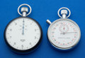 Timepieces:Other , Heuer & Breitling Pocket Timers. ... (Total: 2 Items)