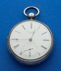 Timepieces:Pocket (pre 1900) , Joseph Johnson Key Wind Pocket Watch. ...