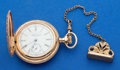Timepieces:Pocket (post 1900), Waltham Gold Filled Hunters Case Pocket Watch. ...