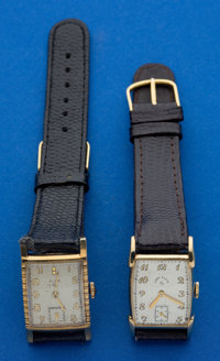 Two Gold Filled Manual Wind Wristwatches