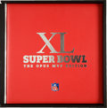Football Collectibles:Others, 2006 Super Bowl XL Opus MVP Edition Issued to Larry Brown. . ...